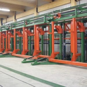 LAMINATED COLLÉ WOOD STACKER